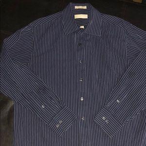 Michael Kors Striped Button Down Shirt 👔